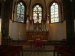 Evangelische Stadtkirche - Altaransicht (c) Evang. Kirchenbezirk Markgräflerland, Region Schopfheim