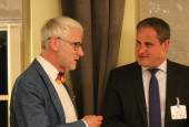 Nils Ingmar Thorell und Bürgermeister