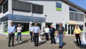 ED Netze GmbH eröffnet neuen Stützpunkt in Schopfheim. Hier bündelt ED Netze das Fachwissen rund um das Thema Wasser. Foto Juri Junkov.